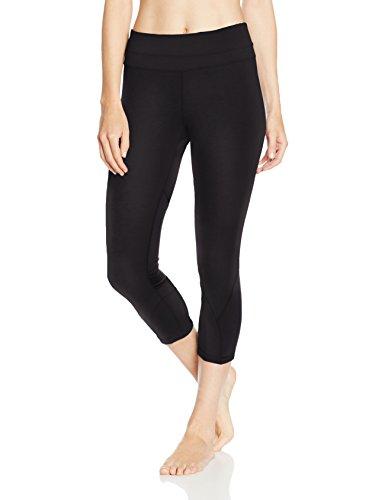 Intimuse Damen Sport Yoga 3/4 Capri Leggings Tight, Schwarz (Schwarz 001), 40 (Herstellerg Preisvergleich