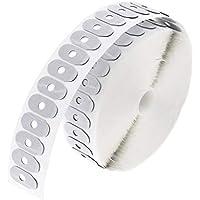 1000 Pedazos Pegatinas Adhesivas Antideslizantes Gafas de Sol Protección - Blanco 1