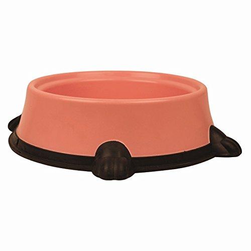 Large Pet Food/Water Round Non-Slip Bowl (Pink)