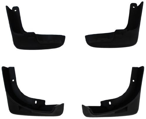 Genuine GM Accessories 95489815 Front and Rear Molded Splash Guard by General Motors