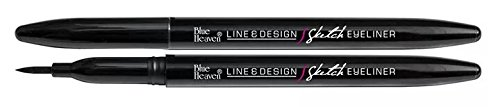 Blue Heaven Line and Design Sketch Eyeliner