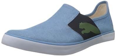 Puma Men's Lazy Slip On Blue Canvas Sneakers - 6 UK/India (39 EU)
