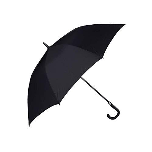GWM Paraguas Paraguas Extra Grande Abierto automático, Paraguas a Prueba de Viento Negros a Prueba de Viento para Hombres, Mujeres, sombrillas de Golf/al Aire Libre/de Negocios, 62 Pulgadas