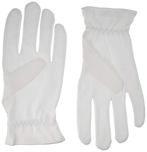 Beauty Care Wear Mittlere Weiße Baumwollhandschuhe Gegen Ekzeme, Trockene Haut & Zur Feuchtigkeitsspendende - 20 ()