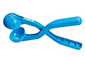 Jamara- 460395-Snow Play Bolas 38cm Suaves, Diámetro de 7 cm Pinza Pelotas Nieve, Color Azul (460395)