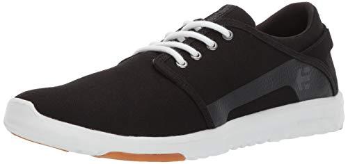 Etnies Herren Scout Sneaker, Schwarz (983-Black/White/Silver 983), 43 EU(9 UK)