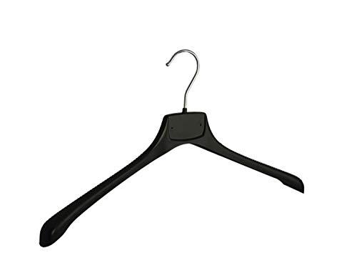 Der Kleiderbügelriese 10 x Jacken/Kostümbügel schwarz, 45 cm