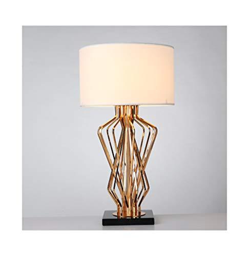 THOR-BEI Schreibtischlampe Nordic Marmor Tischlampe Schlafzimmer Nachttischlampe Lesen Lampled Postmodern Licht Wohnzimmer -51Schreibtischlampen (Farbe : A)