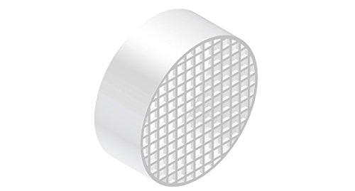 Comptes–Terminale aspiration Air polypropylène D. 80–pour chaudière–cntterm08p