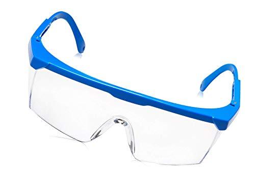 Gafas Protectoras Color Azul Claro Marco endurecido
