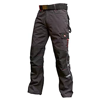 Lee Cooper Workwear LCPNT205 Mens Heavy Duty Easy Care Multi Pocket Work Safety Classic Cargo Pants Trousers