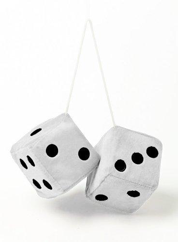 SUMEX JUMBO30 Dados Decorativos Jumbo Size Blancos, 9X9 cm