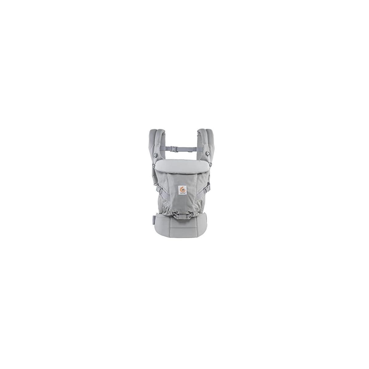 31TynHGMmkL. SS1200  - Ergobaby Adapt - Mochila portabebé, color gris