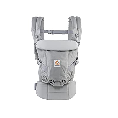 ErgoBaby Adapt Baby Carrier Grey