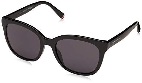 Tommy Hilfiger Sonnenbrillen (TH-1601-G-S 807IR) glänzend schwarz - blau-grau