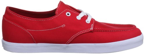 Reef Deck Hand 2, Sneaker Uomo rosso (Red/White)