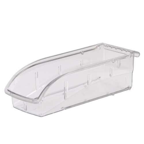 akro-mils 305A5Insight ultraklar Kunststoff zum Aufhängen und Stapeln Storage Bin, 10-7/8Zoll Lang, 4-1/8Zoll Breite, 3-1/4-Zoll Breite, Fall von 12