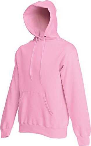 Fruit of the Loom Hooded Sweat Rose M