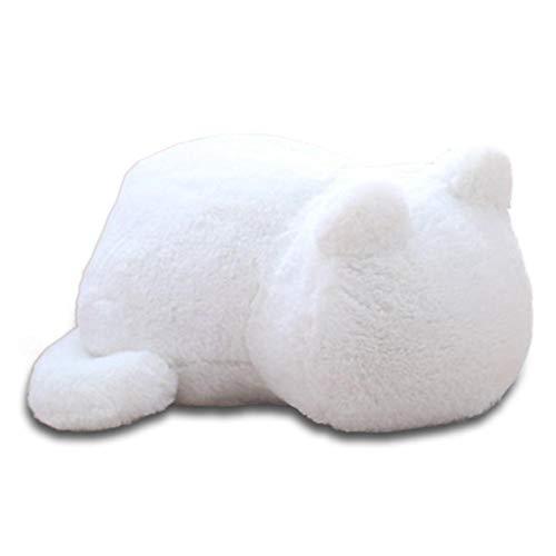 Rikey Wurfkissen mollig Katze Stil Plüsch Puppe niedlichen Cartoon komfortable Dekoration Kissen, Innovation Begleiter ()