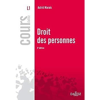 Droit des personnes - 3e éd.