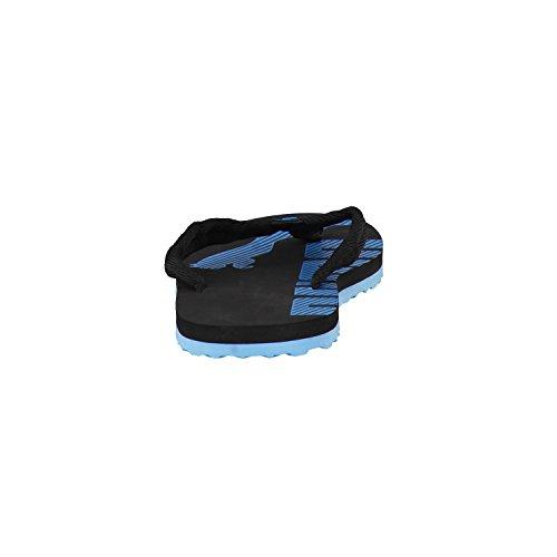Puma Epic Flip V2, Tongs Garçon Noir et bleu