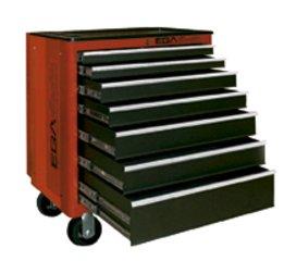 Egamaster - Carro herramientas 7 cajones amarillo