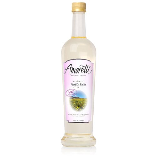 Amoretti Premium-Sugar Free, Würze, Fiori Di Sicilia, 25,4 Unze