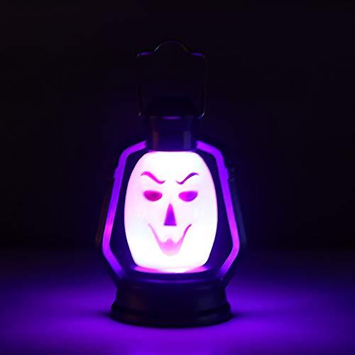 CSDM.AI Kreative Kürbis Laterne Halloween-Laternen Party Vielfalt Der Stil Nachtlicht Dekoration (3 Packungen),A,3Packs
