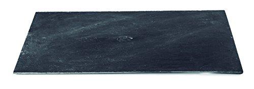 Lacor 61031 - Bandeja pizarra, 20 x 30 x 0.5 cm