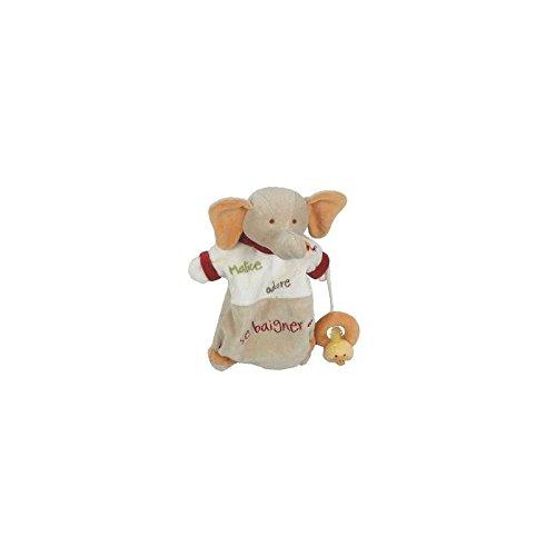 Babynat-Doudou Babynat Baby 'Nat Elephant marioneta