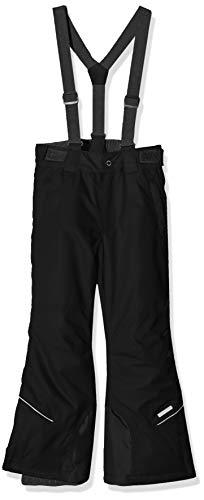 Icepeak Kinder Carter Junior Wadded Hose, Schwarz, Size 164 cm