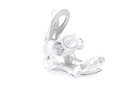 SP United Snowboard Binding Private White white
