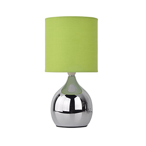 Table lamp green amazon modern touch lamp lounge bedside table lights lamps chrome copper finish green aloadofball Images