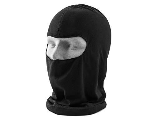 TK Gruppe Timo Klingler Sturmhaube Haube Kopfhaube Maske Sturmmaske Mütze Skimaske für Wintersport Ski, Snowboard & Langlauf, Motorrad schwarz