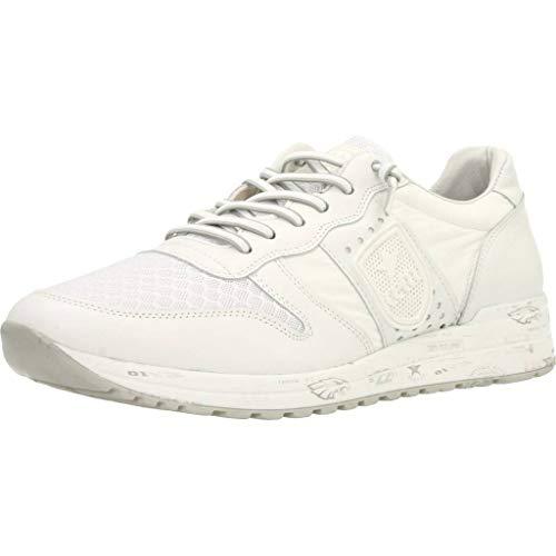 Zapatos Hombre, Color Blanco Blanco, Marca CETTI