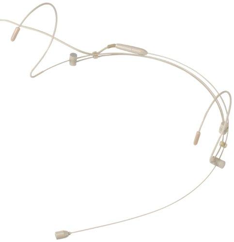 Pronomic HS-31 EA Headset Zwei-Ohr, beige (Back-Elektret Kondensator, Richtcharakteristik: Kugel, Frequenzgang: 20 - 20.000Hz)