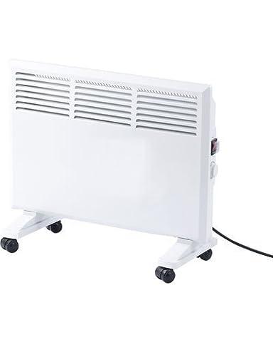 Convecteur Electrique Mural - Convecteur électrique mobile sur roulettes - 1000