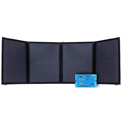 Offgridtec© FSP 2 Ultra 50W faltbares Solarrmodul mit PWM Laderegler
