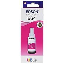 Epson Original T6643 Tintepatrone EcoTank, Singlepack magenta