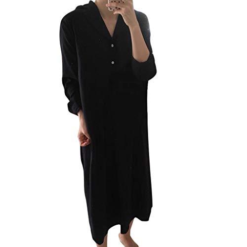 Krawatte Gürtel Mini (Committede Damen Elegant Kleid Blusenkleid V Ausschnitt Casual Sommerkleid Casual Taste Kurzarm Krawatte Taille Einfarbig Strand Mini Shirt Kleid Hemdkleid Elegant mit Gürtel)