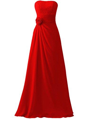 HUINI -  Vestito  - Donna Red