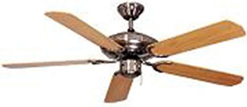 Deko Deckenventilator, Steel-Star Slimline BC 803-S, 103cm -