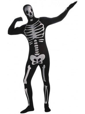 Rubie's 3 880514 L - 2nd Skin Skeleton Kostüm, Größe L