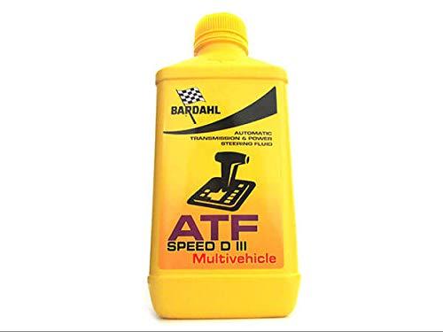 BARDAHL ATF Speed D III Multivehicle Lubrificanti Olio Trasimissioni e Differenziali Per Cambio Automatico 1 LT