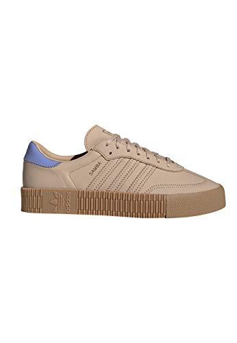 adidas Originals Sneaker SAMBAROSE W EE7155 Braun Blau, - Braun Schuhe Adidas Damen