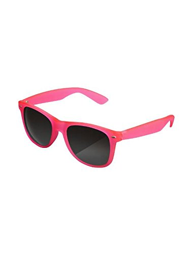 Masterdis Mstrds Likoma Glowing in The Dark Fluorescenti Sunglasses UV400 Occhiali da Sole Colore neonpink