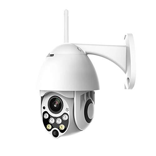 VCB Auto Tracking Außen PTZ IP Kamera 1080P Speed   Dome Überwachungskameras - weiß (EU) Auto-tracking Ptz