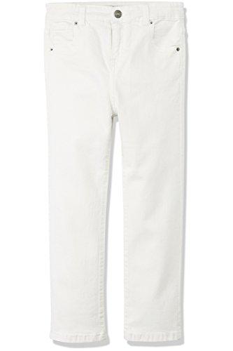 RED WAGON Jeans Mädchen Basic, Weiß (White), 122 (Herstellergröße: 7 Jahre) (Jeans Weiße Mädchen)