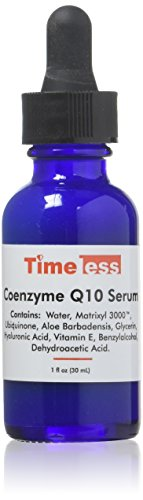 Timeless Skin Care Coenzyme Q10 w/ Matrixyl 3000 Serum 30ml
