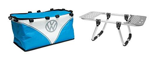 31TzhS38rOL - Volkswagen Grillständer + Picknickkorb, 2-in-1, Kühltasche, inkl. Einweg-Grill